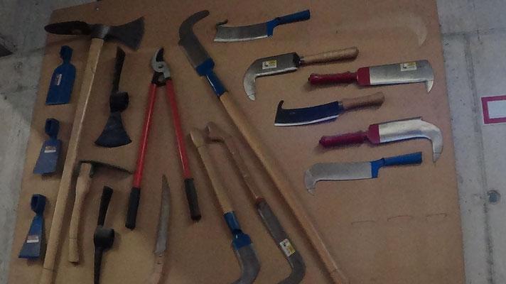 林業学校の道具