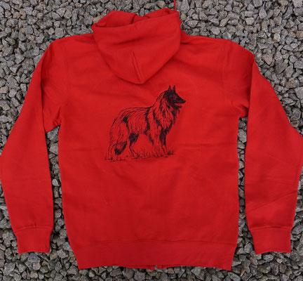 9- Zip-Hooded-Jacke SG 29 - 45 Euro - Motiv vorne 02760 und hinten 02770