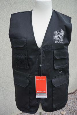 1- Übungsweste RO 45X (unisex) S-2XL black    45 Euro