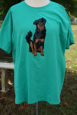 T-Shirt mit lächeldem SM-Hovi 07680 je nach Shirt-Qualität 35-40 Euro