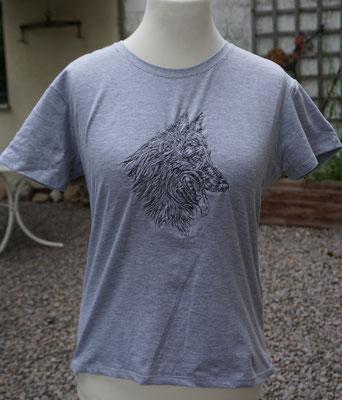 12- Gildan T-Shirt bestickt mit Motiv 02765 groß Preis 20 Euro