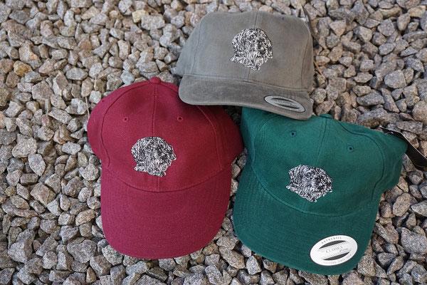 Rauhhaardackel - verschiedene Kappenfarben - Stückpreis 15 Euro