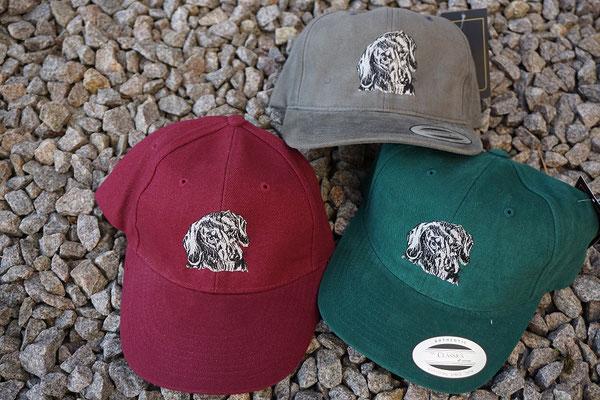 Glatthaardackel - verschiedene Kappenfarben - Stückpreis 15 Euro