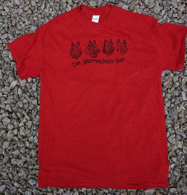 15- Gildan T-Shirt bestickt mit Motiv 02765 groß Preis 22 Euro