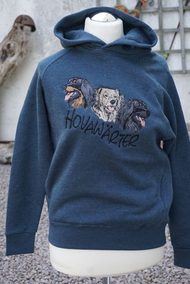 FDM- Tagless Media Hoodie (TH002)-H/Navy XS-3XL    45 Euro Dessin 07608