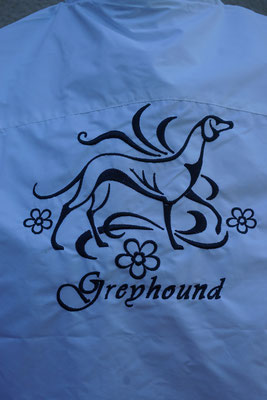 Motiv: 07278 Greyhound Schmuck +(180 x 180mm)
