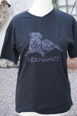 T-Shirt mit schwarzem Hovi 07705  je nach Shirt-Qualität 35-40 Euro