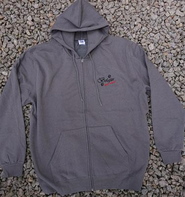 1- Zip-Hooded-Jacke SG 29 - 42 Euro - Motiv vorne 02774a und hinten 02765
