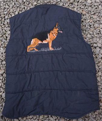 Bodywarmer mit Schäferhundmotiv 05815