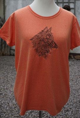 11- Gildan T-Shirt bestickt mit Motiv 02765 groß Preis 20 Euro