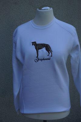 Motiv: 07260 Greyhound farbig stehend +