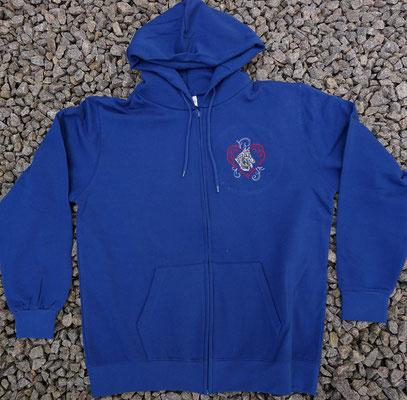 7- Zip-Hooded-Jacke SG 29 - 45 Euro - Motiv vorne 02769a und hinten 02768a unterlegt