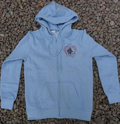 6- Zip-Hooded-Jacke SG 29 - 45 Euro - Motiv vorne 02769 und hinten 02768