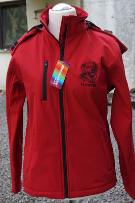 8- Softshell Hooded R230-Result Core 65 Euro 2fach bestickt