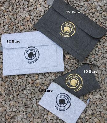 BG726 große Tasche  BG725 kleine Tasche mit Motiv 07715 Hovispirale