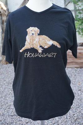 T-Shirt mit blondem Hovi 07700  je nach Shirt-Qualität 35-40 Euro