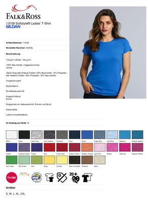 T-Shirt Gildan 13109 Damen