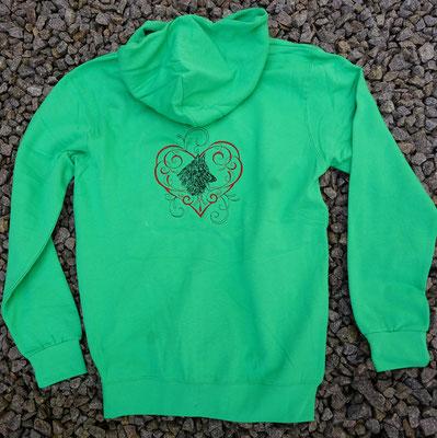 5- Zip-Hooded-Jacke SG 29 - 45 Euro - Motiv vorne 02769 und hinten 02768