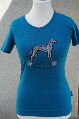 Motiv: 14901 Scottish Deerhound stehend (180 x 170 mm)