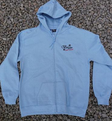 3- Zip-Hooded-Jacke SG 29 - 42 Euro - Motiv vorne 02774a und hinten 02765