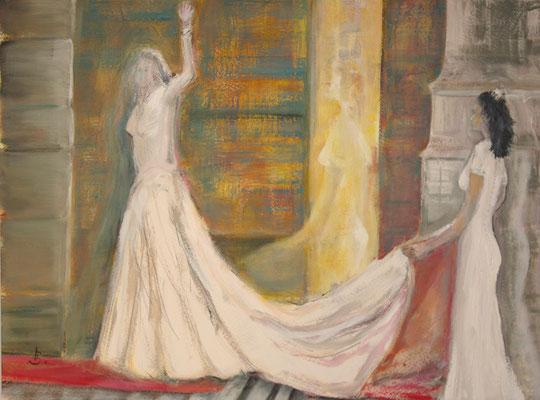 Shape and shadow of a princess