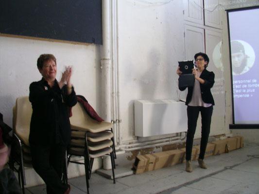 Martine Barbault et Martine Belfort