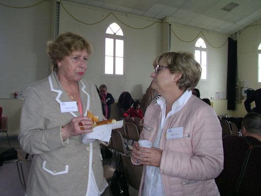 Astrologie Bordeaux - Christiane Nastri (CEBESIA) et Chantal Canu