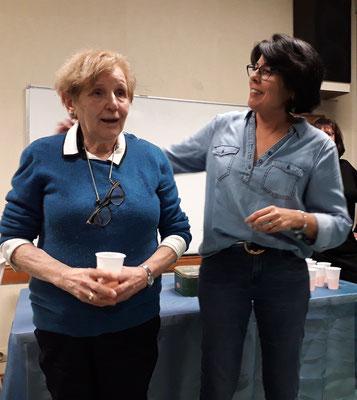 Jo et Martine, les organisatrices