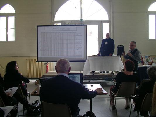 Astrologie Bordeaux - Richard Lachance (et Philippe Thibault en arrière)