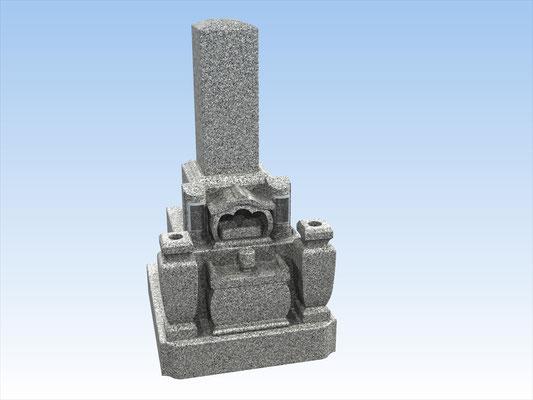 和墓D 9寸型芝台式型  平均価格 842.400円(税込み)