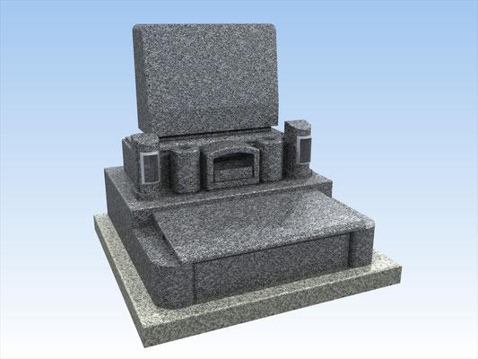洋型墓石セット・タイプY-3 価格 792,000円(税込み)