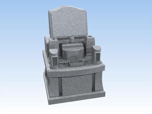 オリジナルセット墓(和洋折衷型) 平均価格 896.400円(税込み)
