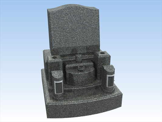 洋型墓石セット・タイプY-1 価格 660,000円(税込み)