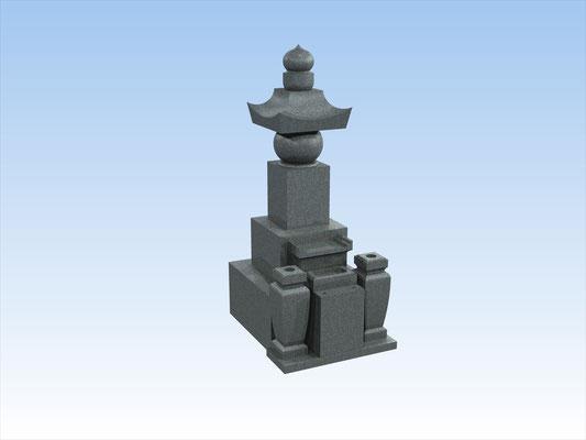 和墓(五輪塔)9寸角  平均価格 825,000円(税込み)