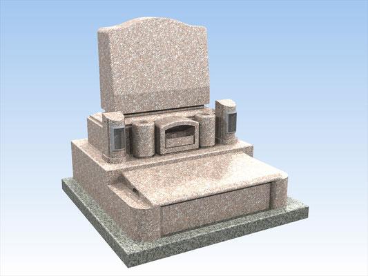 オリジナルセット墓(洋墓B) 平均価格 777.600円(税込み)