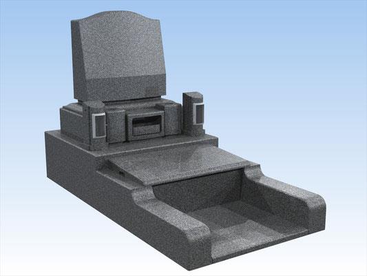 オリジナルセット墓(洋墓C)  平均価格 885.600円(税込み)