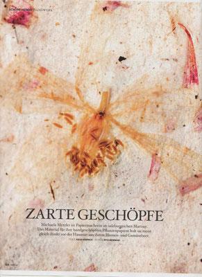 Servus Stadt und Land, handgeschöpftes Papier, PAPIER-art Werkstatt Mattsee, Österreich