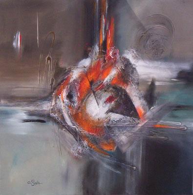 Fish - 80 x 80 cm - 790 €