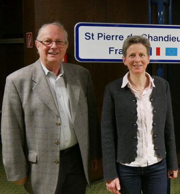 In den Ämtern bestätigt wurde Ralf Augustin (Kasse) und Barbara v. Schnurbein (1. Vorsitzende).
