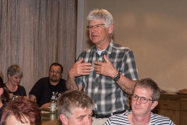 Ernst Aernie für den Turnverein Lauchringen