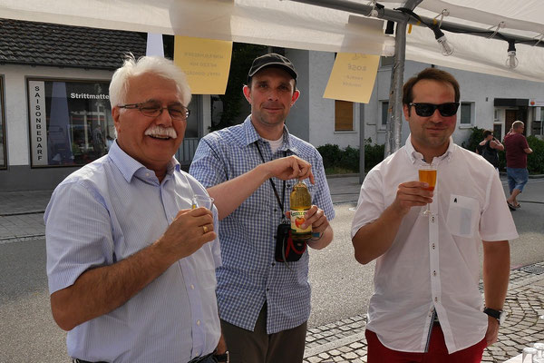 Freunde von der SPD geben uns die Ehre.