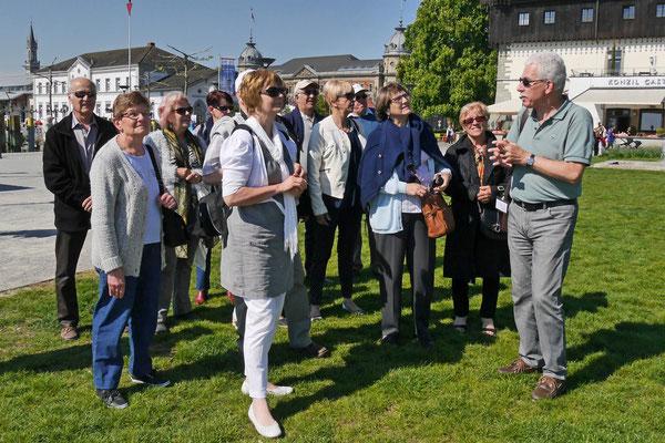 französische Führung durch die Altstadt von Konstanz