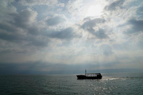 Bootsfahrt auf dem See Genesareth