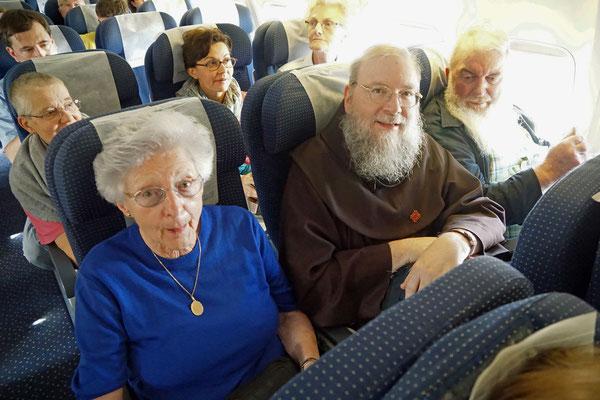 Flug nach Israel