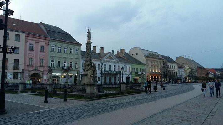 Stadt Kosice in der Slowakei