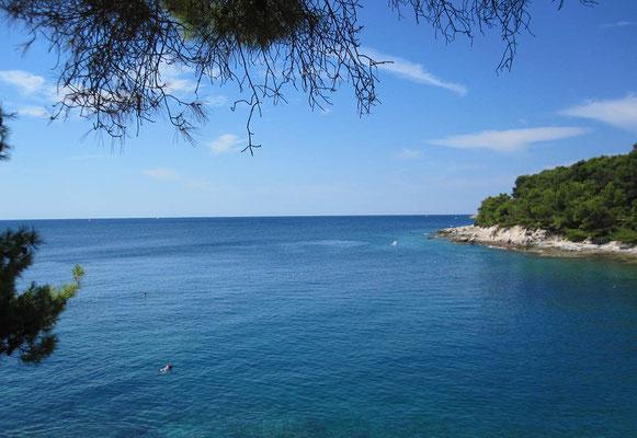 Blick in das schöne weite Meer. (Foto von cdn.kroati.de)