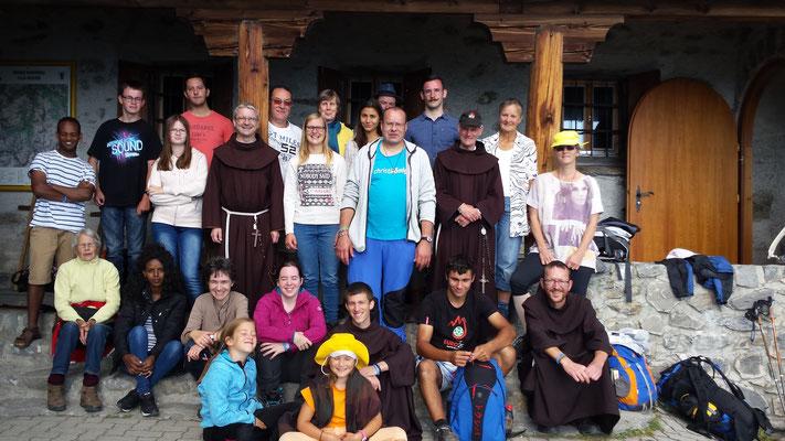 Noch ein Gruppenfoto in Ziteil :-)