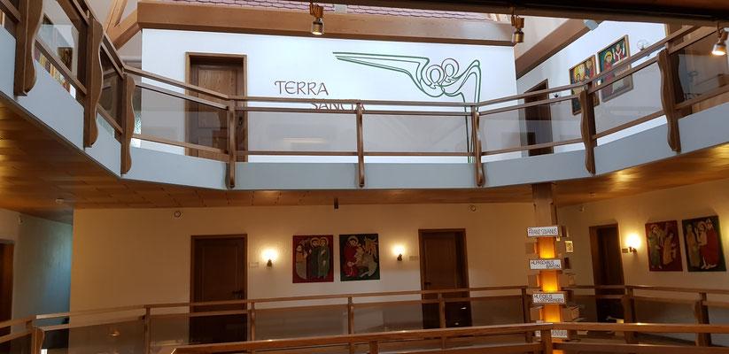 Die Anbetungskapelle hiess Terra sancta