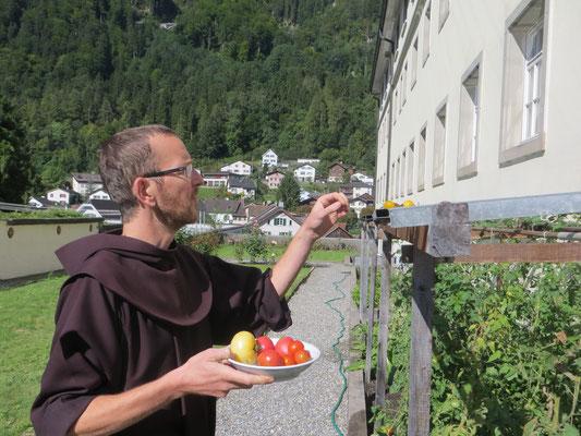 Gute Tomaten aus dem Garten :-)