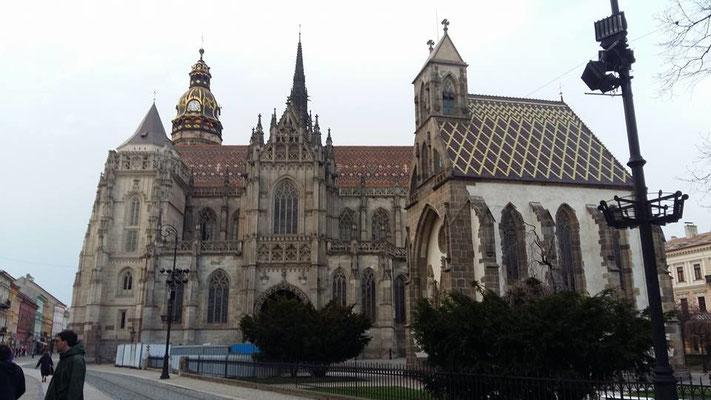 Wunderschöner Dom der hl.Elisabeth in Kosice